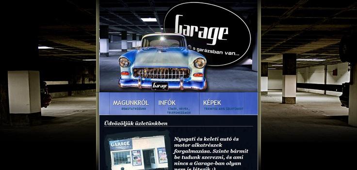 Garage autó- motoralkatrész szaküzlet