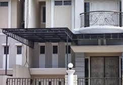 Desain Kanopi Rumah Minimalis 1 sisi