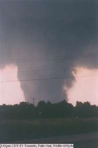 Jarrell Texas, F5 tornado - The 1997 Central Texas tornado outbreak was an unusual tornado outbreak in Central Texas which occurred on May 27, 1997