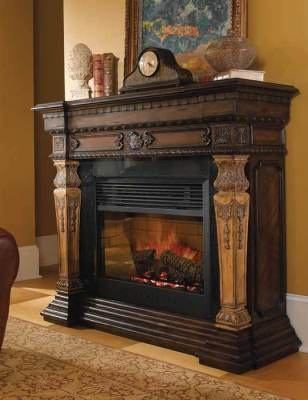 St Andrews Electric Fireplace Evocative Of An English