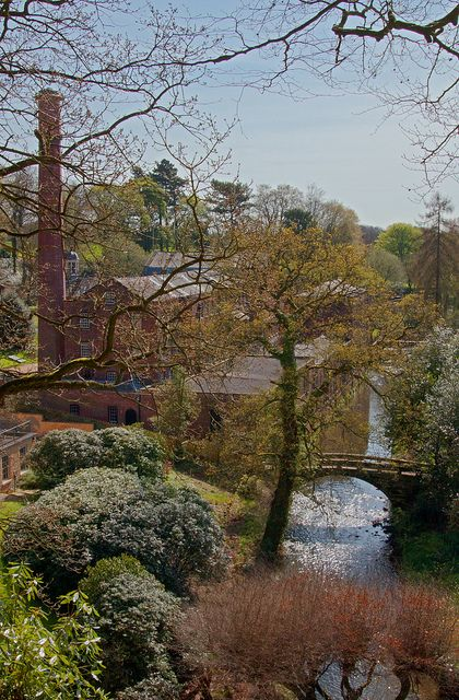 Quarry Bank Mill - Manchester, England went here last year absolutely mind blowing