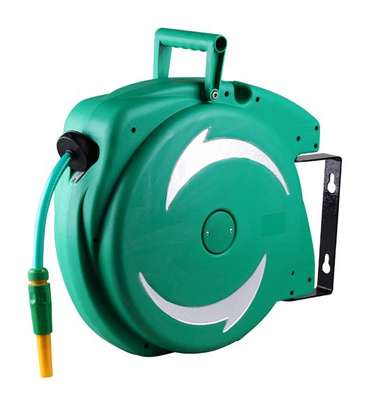 20 M automatic retractable garden hose reel