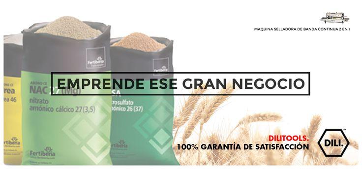 MEJORA LA CALIDAD DE LOS PRODUCTOS QUE VENDES, DILI TOOLS TE OFRECE HERRAMIENTAS PARA TU PRODUCTIVIDAD Y CALIDAD. SELLADORA PARA CUALQUIER TIPO DE BOLSAS. #emprende #negocio #selladora #selladoradebolsas #fertilizantes #semillas #granos