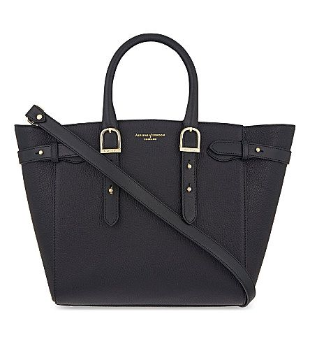 ASPINAL OF LONDON - Marylebone medium pebbled leather tote | Selfridges.com