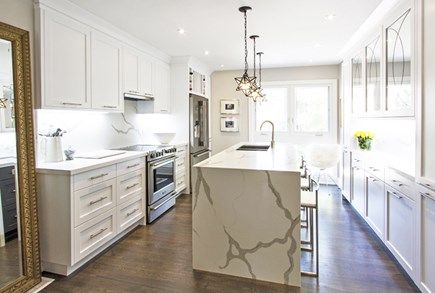 """There were those who said it couldn't be done, but Bryan and Sarah Baeumler proved them all wrong. On the grand finale of Bryan Inc. the couple finally unveiled theHighview home, which had been completely transformed under Sarah's """"green"""" project management skills. Take a look at this gorgeous, Burlington, Ontario, home with its intricate details, lavish space and rich finishes."""