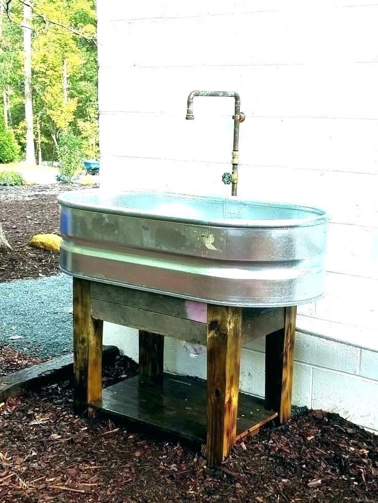garden hose sink outdoor sink faucet outdoor sink outside