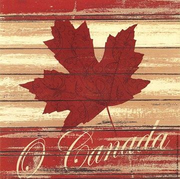 O Canada by Jo Moulton (art print) @Michelle Flynn Flynn Flynn Flynn Coleman for Art