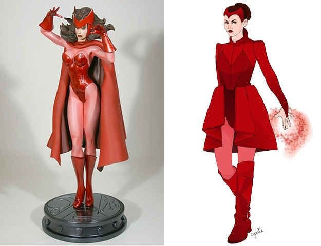 I like the improved Scarlet Witch costume. Looks cooler and more comfortable.