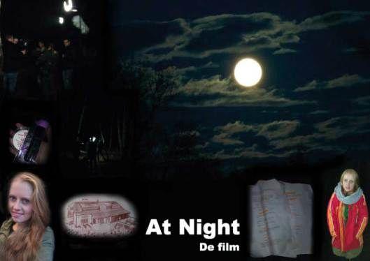 Passie - Acteren - Eindexamenfilm  At Night, Hoofdrol