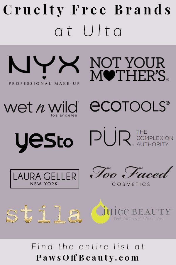 Cruelty Free Brands At Ulta Paws Off Beauty Cruelty Free Cosmetics Cruelty Free Brands Cruelty Free Skin Care