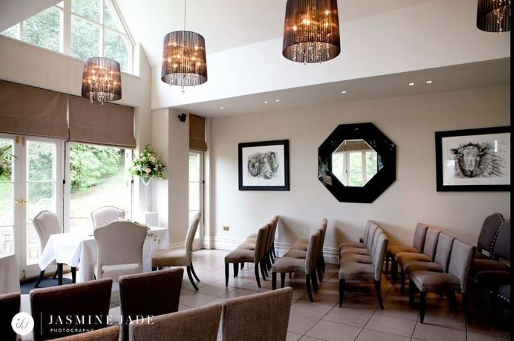 The garden room at #MaisonTalbooth is perfect in the summer months for #civilceremonies