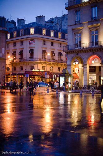 Paris Night - 01 by T. Scott Carlisle, via Flickr