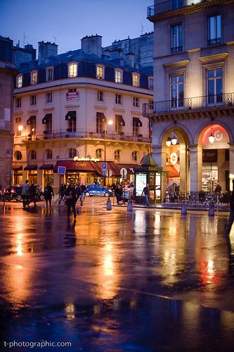 Rue de Rivoli, Paris ..... Our hotel was a block up from here. Great area for shopping, eating, walking.
