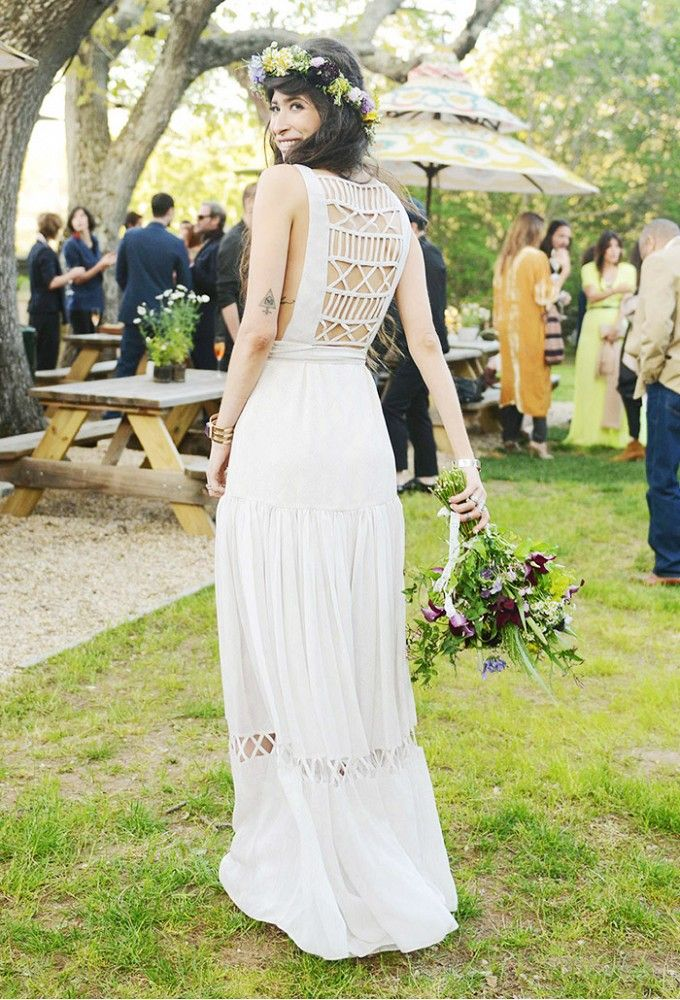 Pamela Love in custom Mara Hoffman via @WhoWhatWear