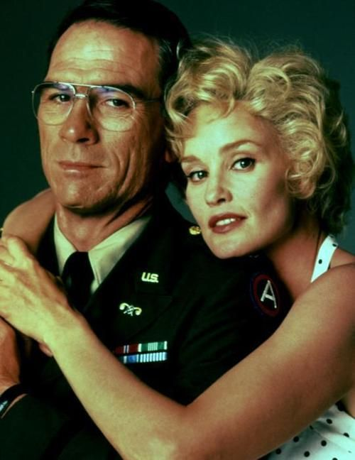 "Tommy Lee Jones & Jessica Lange in ""Blue Sky"" (1994) Jessica Lange - Best Actress Oscar 1994"