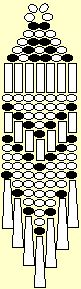 Comanche earring pattern ( this is the first seed bead earring pattern I used years ago when I learning to bead. Easy for beginners )