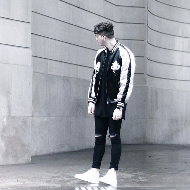 Check out this ASOS look http://www.asos.com/discover/as-seen-on-me/style-products?LookID=212452