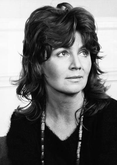 Edna O'Brien. She was the foxiest ever. Also a great novelist. But so foxy!