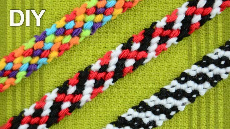 M Rag Rug Friendship Bracelet Diy Tutorial Macram 233