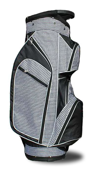 Monaco Premium (Timeless Noir) Taboo Fashions Ladies Lightweight Golf Cart Bag. Find more ladies golf bags at #lorisgolfshoppe
