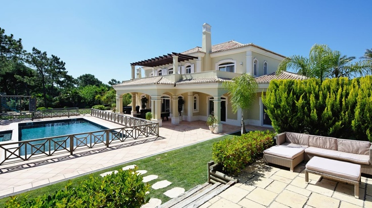 5 Bed, 6 Bath - This outstanding property, is set on the 13th fairway of the Quinta do Lago North course.  Elegant interiors, with great entertaining rooms, stylish dining room, fully fitted kitchen and a cosy TV family room. Both ground floor bedrooms have direct access to the manicured landscaped garden and/or pool area. On the top floor there are an additional three bedrooms suites including the... Read more at…