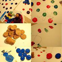 Anti-Langeweile-Ideen: Geschenkpapier stempeln