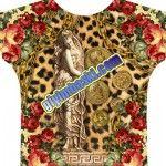 leopar ve figür baskılı bayan giyim baskıları