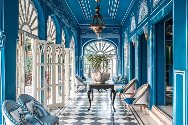 Blue Crush: Bar Palladio Jaipur | La Dolce Vita