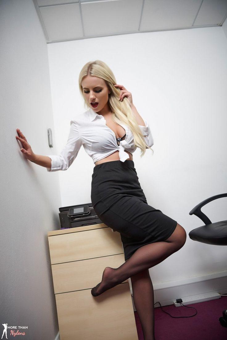 office porn beauty girl