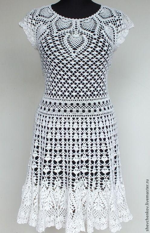 """Купить Вяжем сами платье """"Натали"""" (описание и схемы PDF 15 схем и фото)"""