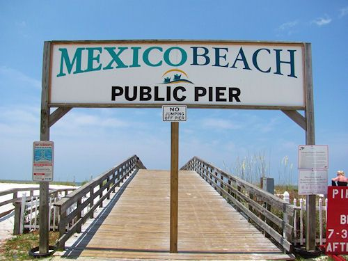 Mexico Beach, Florida's Public Fishing Pier