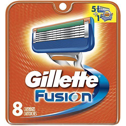 Gillette Fusion Manual Mens Razor Blade Refills 8 Count Mens Razors / Blades