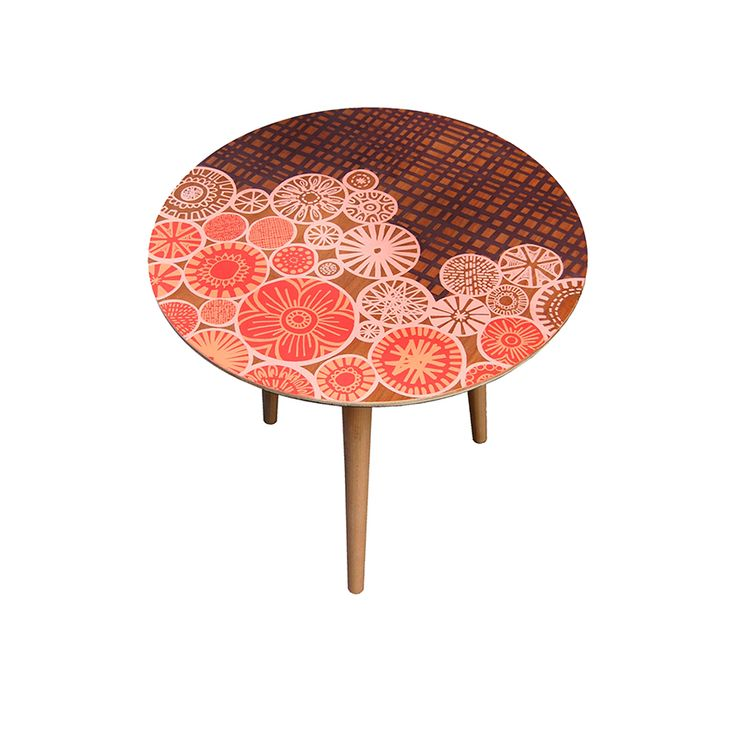 Exceptionnel Patterned And Printed Side Tables