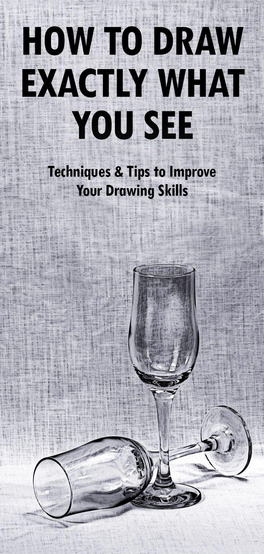 So zeichnen Sie genau das, was Sie sehen: Techniken und Tipps zur Verbesserung Ihrer Zeichenfähigkeiten