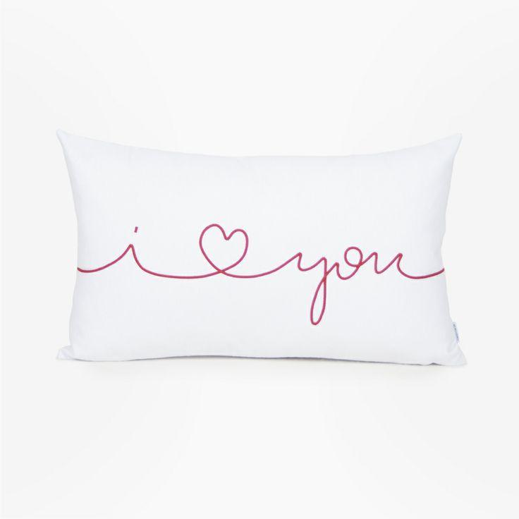 Home decor - I love you cushion - Olé mis cojines!