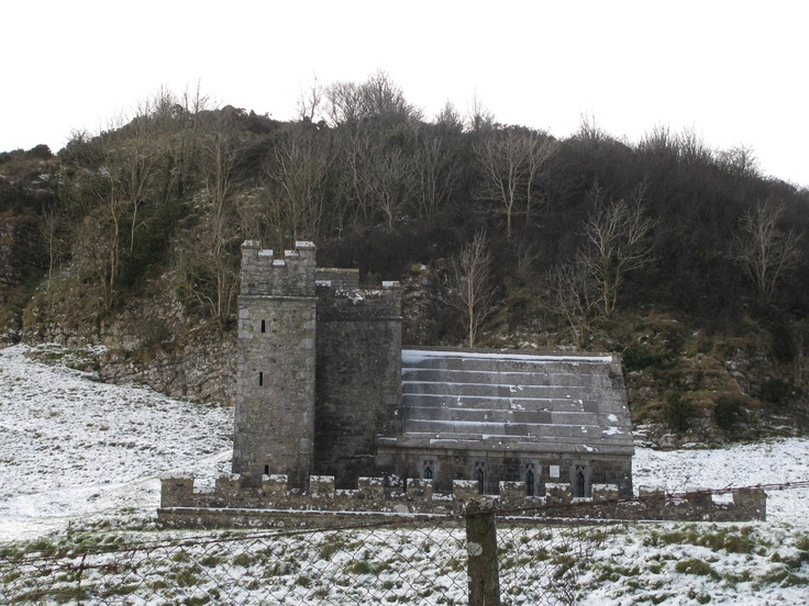 It looks like a tiny castle but it is in fact a mausoleum and the home of Ireland's last hermit. One of Fore's wonders.