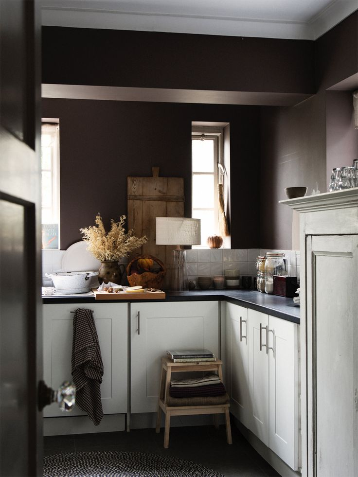 kitchen painted london clay by farrow and ball