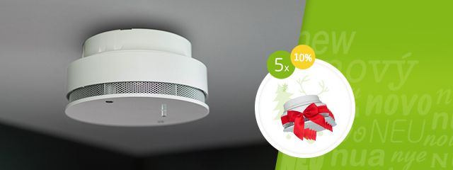 Nový detektor kouře ve městě Air ;) There's a new smoke detector in Air town ;)