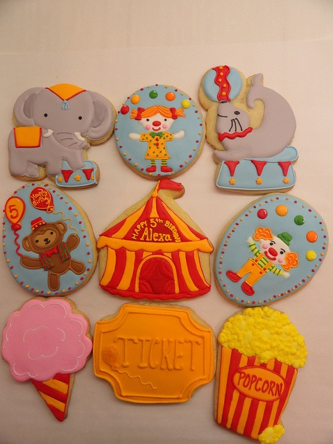 Circus Cookies! | Flickr - Photo Sharing!