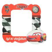 cars arabalı doğum günü magnet resim çerçevesi