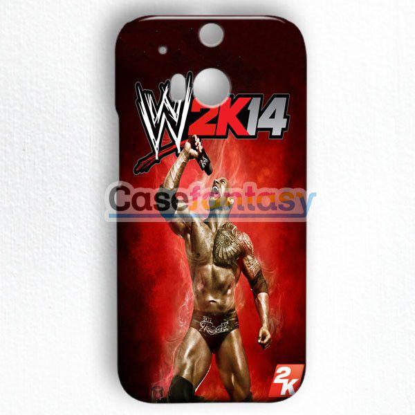 Wwe2K14 The Rock Gameplay HTC One M8 Case   casefantasy