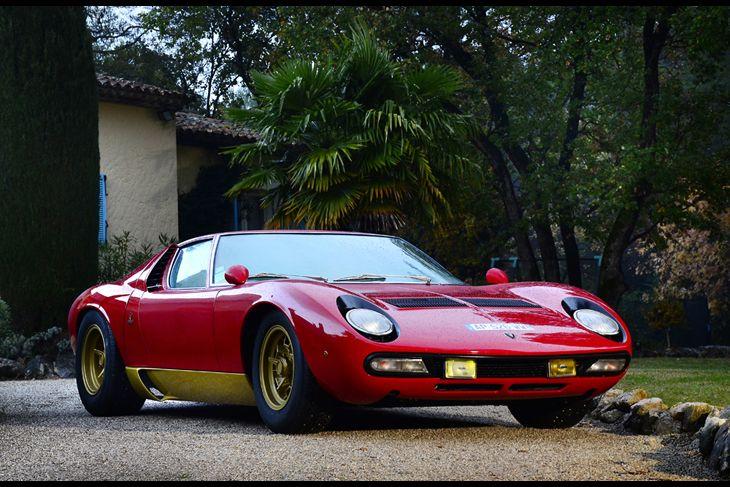 1971 Lamborghini Miura P400SV Coachwork by Bertone