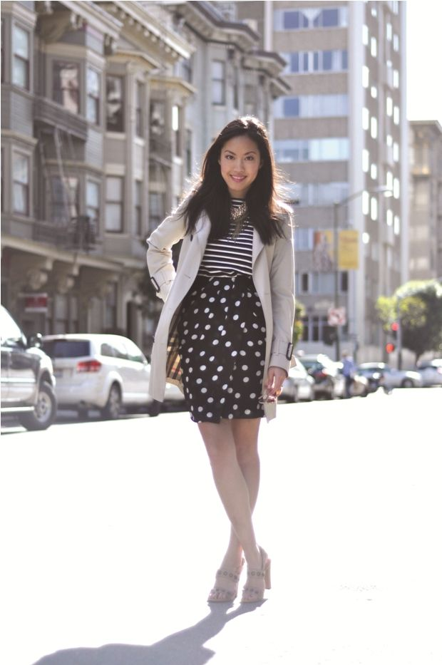 35 best Stripes and Polka Dots images on Pinterest Polka dots - stripes with polka dots