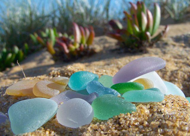 Sea glass found by family in South Australia x www.morningtonseaglass.com.au