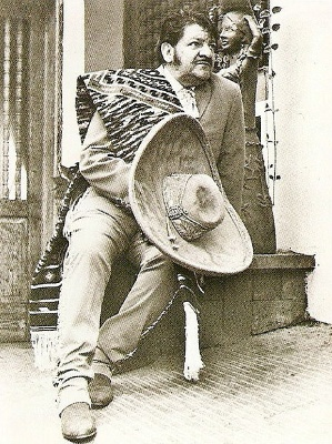 Jose Alfredo Jimenez I grew up listening to Jose Alfredo and it is the memory of a happy childhood and the love for music that my parents taught me. I am so grateful for that.
