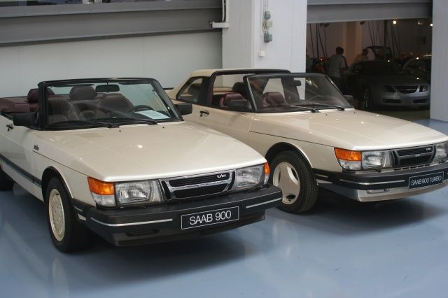 og saab 900 convertible prototypes left with the mechanism of asc and on the right the. Black Bedroom Furniture Sets. Home Design Ideas