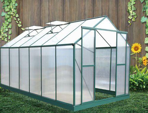 Decouvrez cette Serre de Jardin Polycarbonate 12.81 m² au meilleur prix sur-LeKingstore - LeKingStore