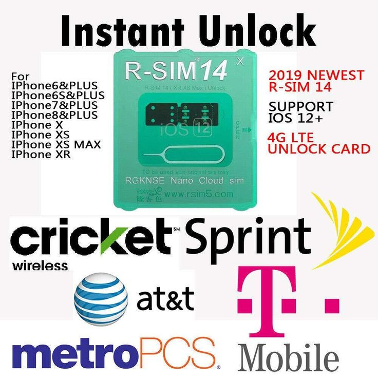 Ronshin rsim 14 rsim nano unlock card for iphone xs max