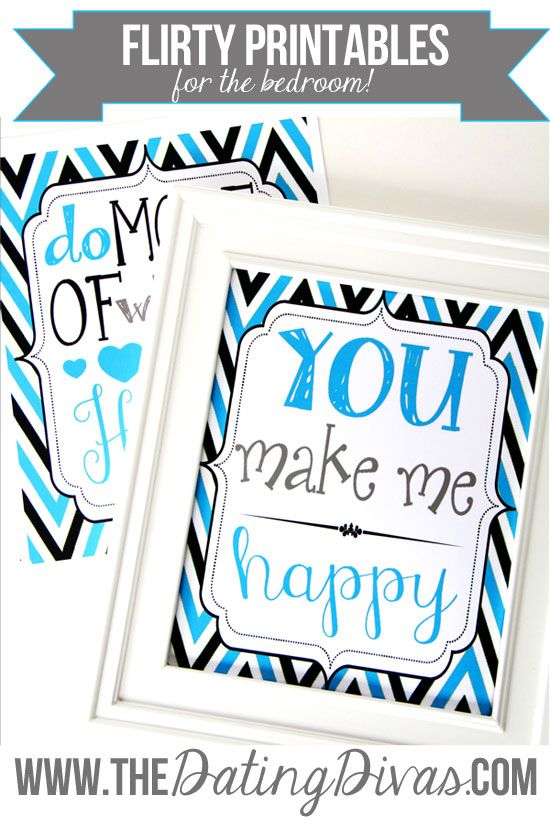 Loving these sassy quote printables- perfect for spicing things up in the bedroom! www.TheDatingDivas.com