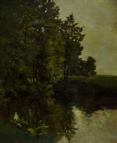 Julius Mařák - Summer scenery (1880's) #painting  #art #Czechia